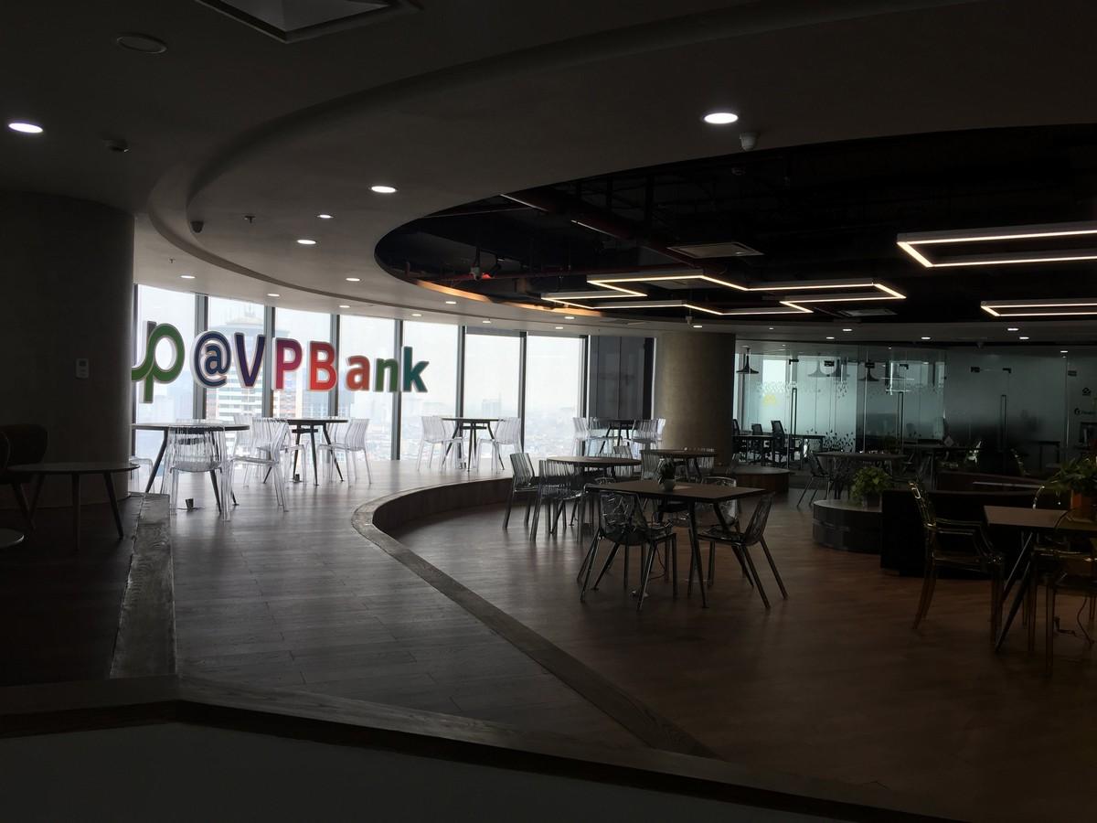 Cải tạo nội thất Coworking Space tầng 21 VP Bank