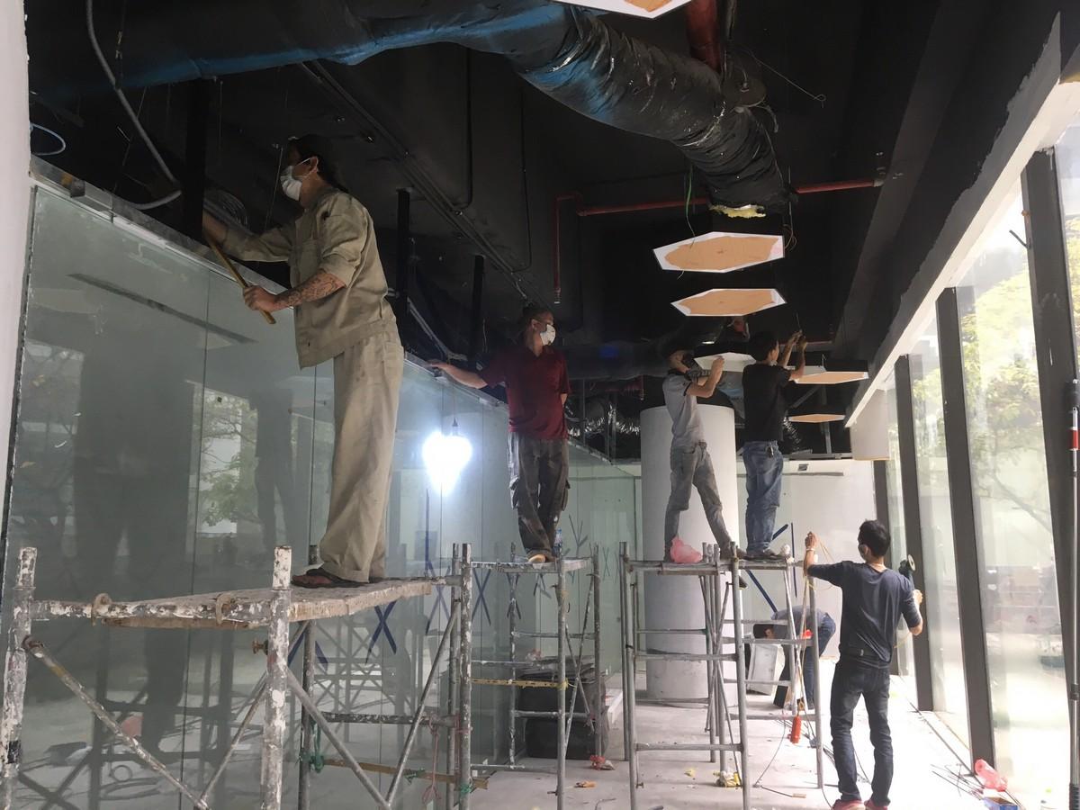 Sản xuất đồ gỗ văn phòng tại Minh Khai