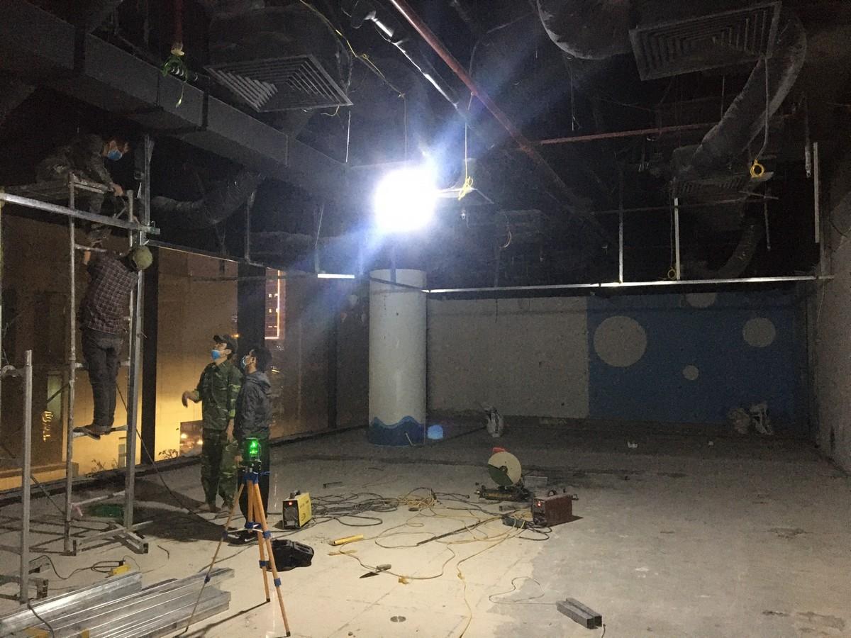 Sửa chữa văn phòng tại Hoàng Mai