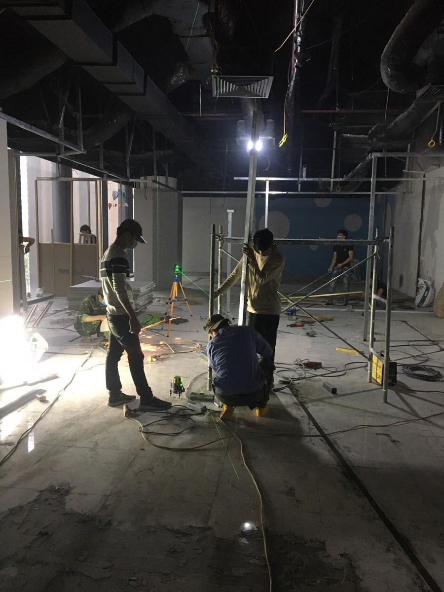 Cải tạo nội thất khu hội thảo tại Hà Nội