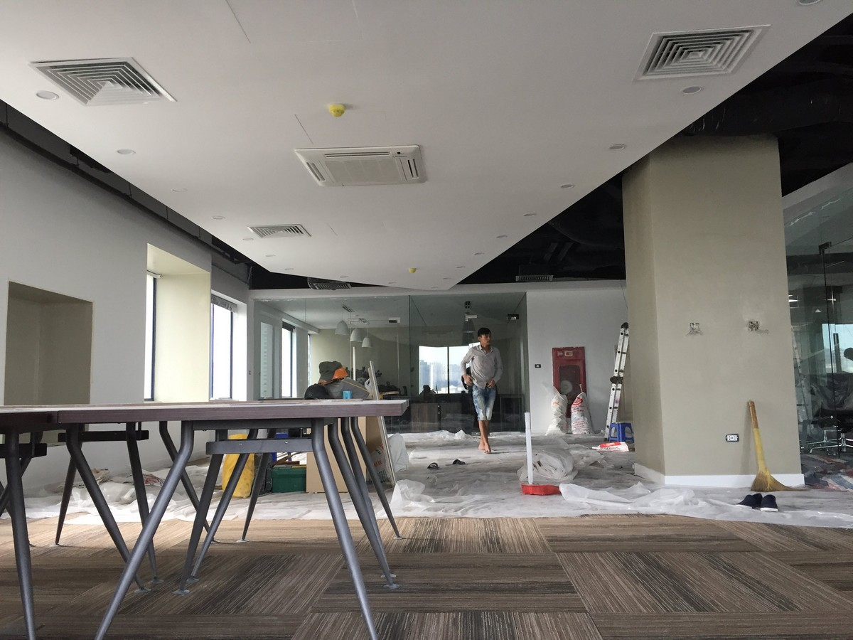 Sản xuất đồ gỗ nội thất văn phòng tại Thành Công