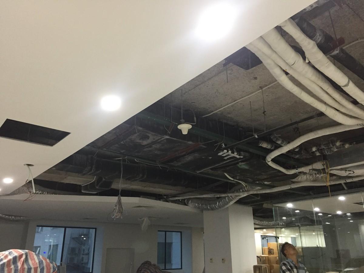 Cải tạo nội thất khu làm việc tại TP.HCM