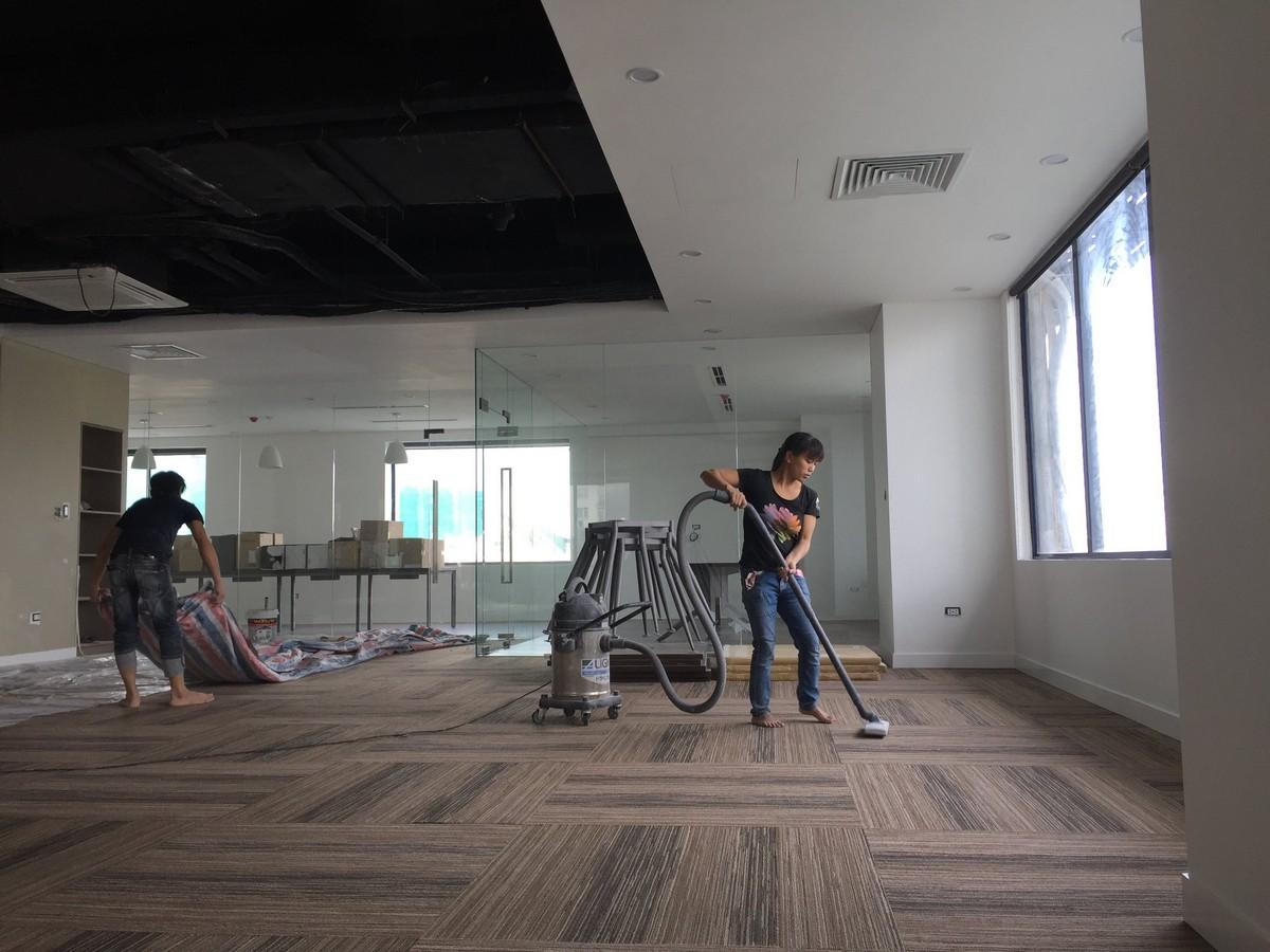 Sửa chữa nội thất khu làm việc chung
