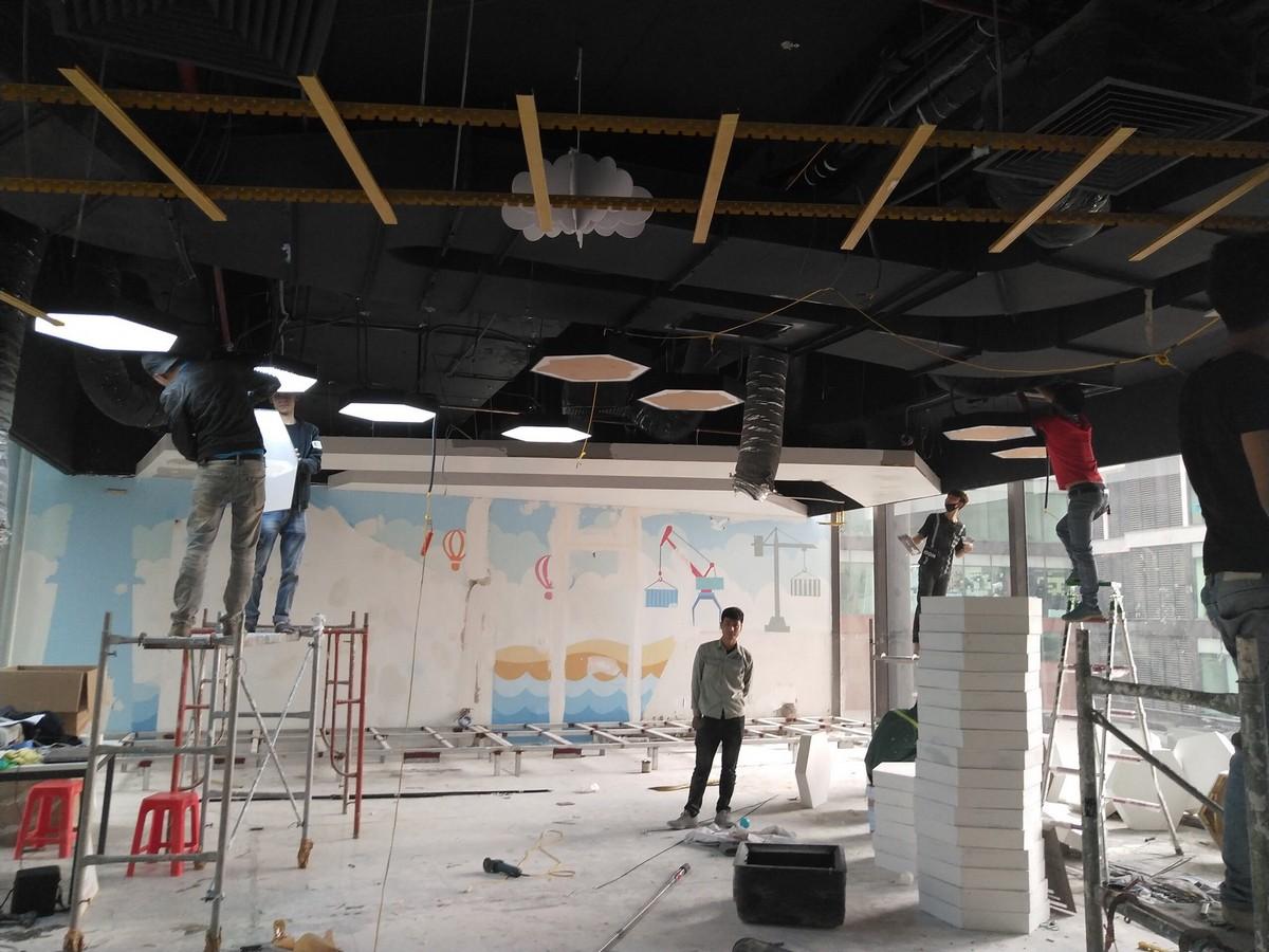 Cải tạo nội thất phòng phó chủ tịch tại TP.HCM