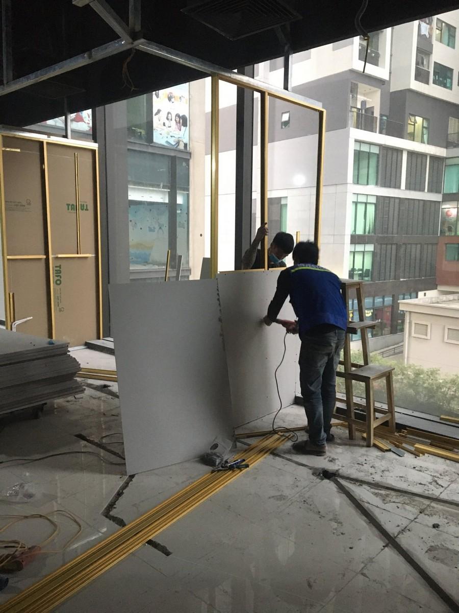 Sản xuất đồ gỗ nội thất văn phòng Hạ Đình