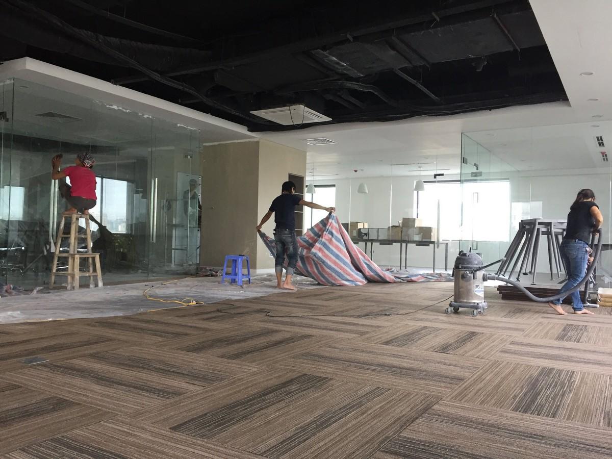 Sản xuất đồ gỗ nội thất văn phòng tại An Lợi Đông