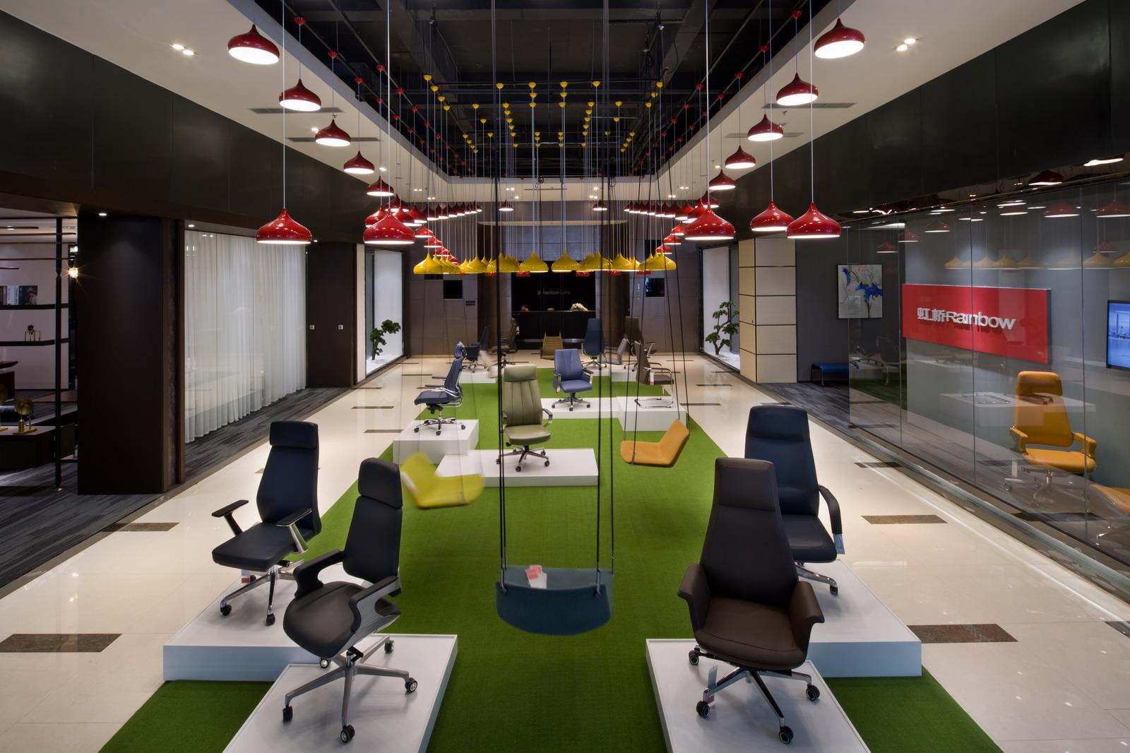 Showroom ghế văn phòng CM-B248AS