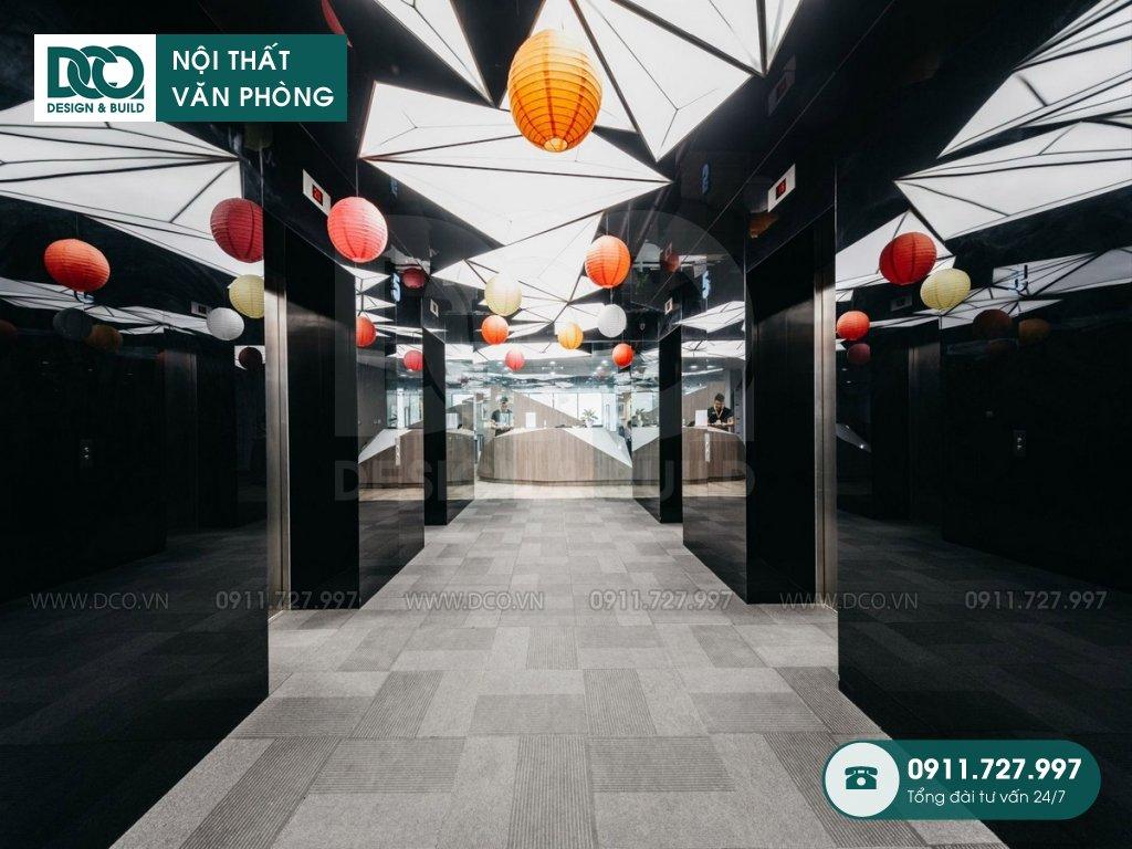 Dự án thiết kế nội thất văn phòng làm việc chung tại Hà Nội