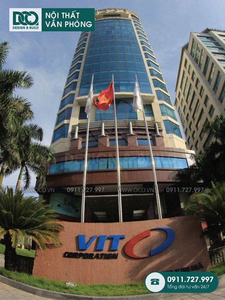 Thiết kế văn phòng tòa nhà 519 Kim Mã