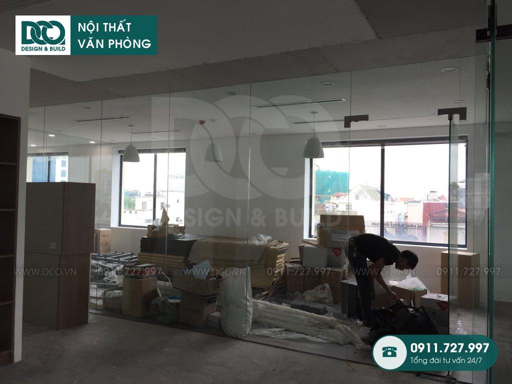 Dự án thiết kế nội thất văn phòng
