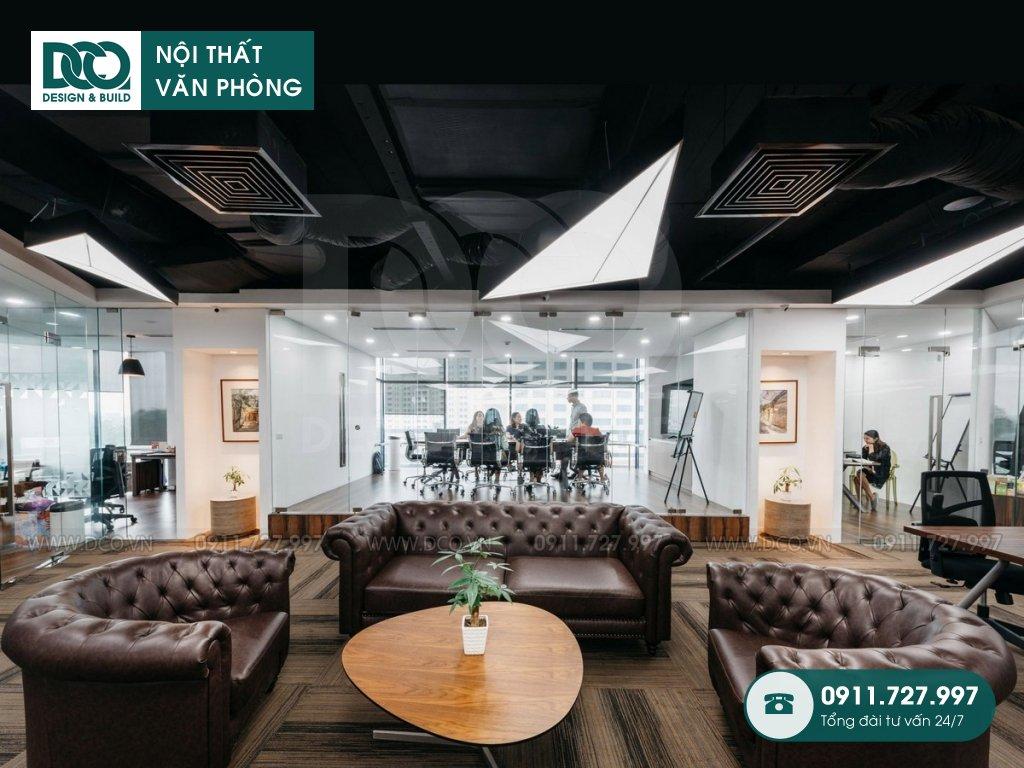 Dự án thiết kế nội thất văn phòng cao cấp