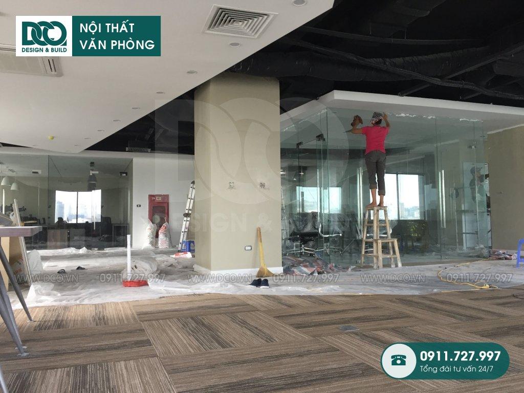 Giai đoạn 1: Thi công nội thất văn phòng UP Kim Mã