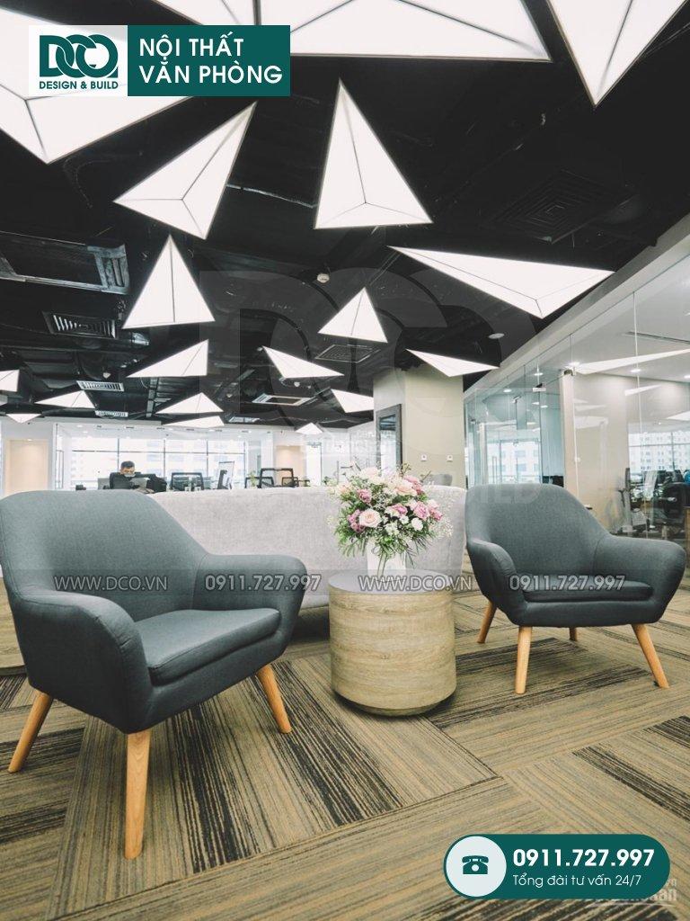 Hoàn thiện dự án thi công nội thất văn phòng UP Kim Mã