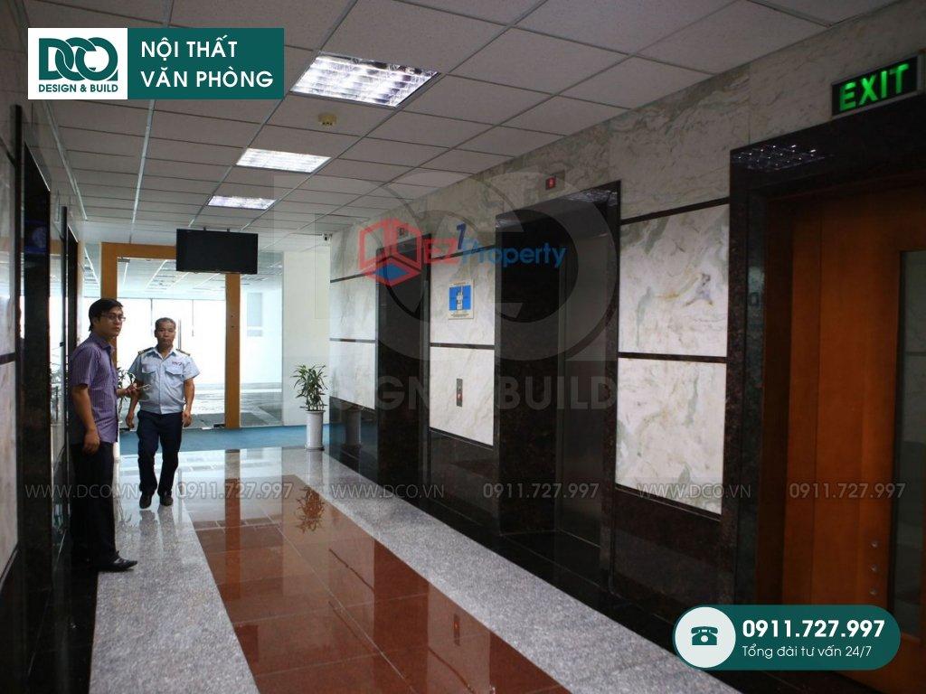 Khảo sát công trình thiết kế nội thất văn phòng UP Kim Mã
