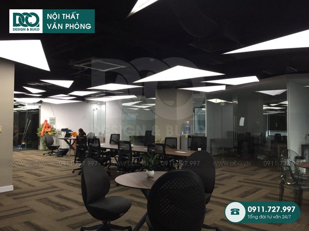 Mẫu nội thất văn phòng 150 chỗ