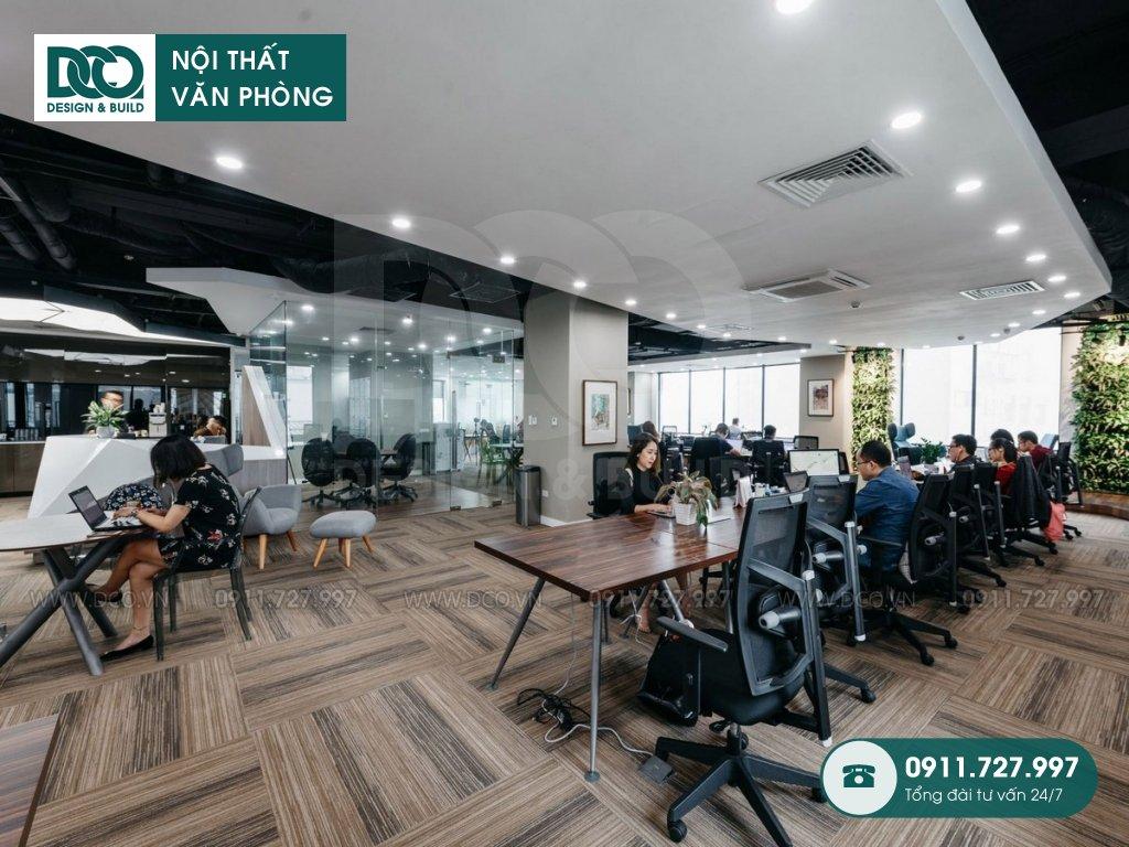 Hồ sơ bản vẽ mẫu nội thất văn phòng 150 chỗ