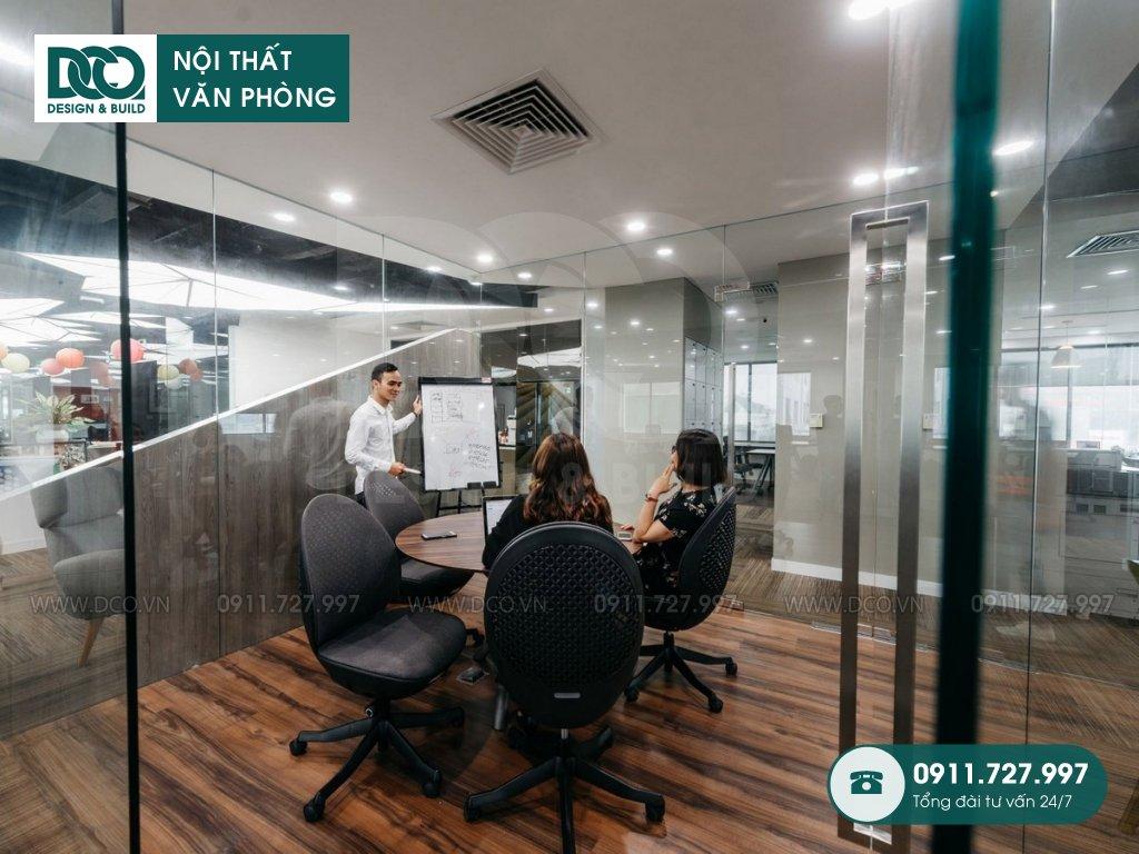 Bản vẽ mẫu nội thất văn phòng 750m2 tại 519 Kim Mã