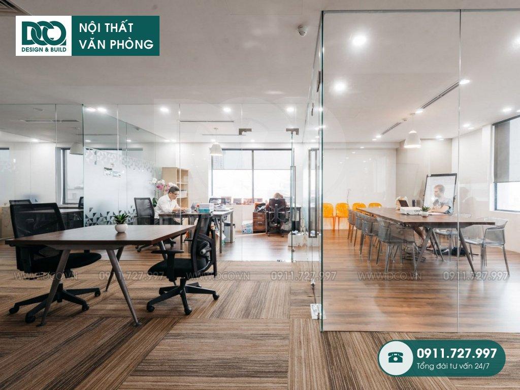 Mẫu nội thất văn phòng 750m2 tại 519 Kim Mã