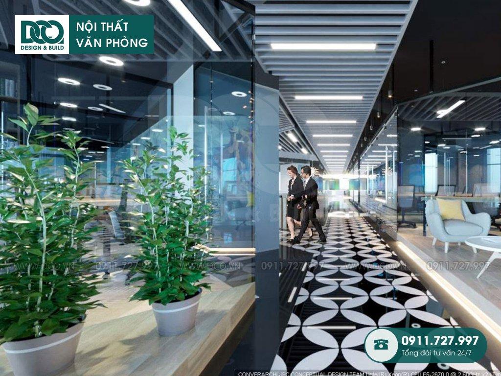 Hồ sơ dự án thiết kế nội thất văn phòng tòa nhà số 1 Lương Yên