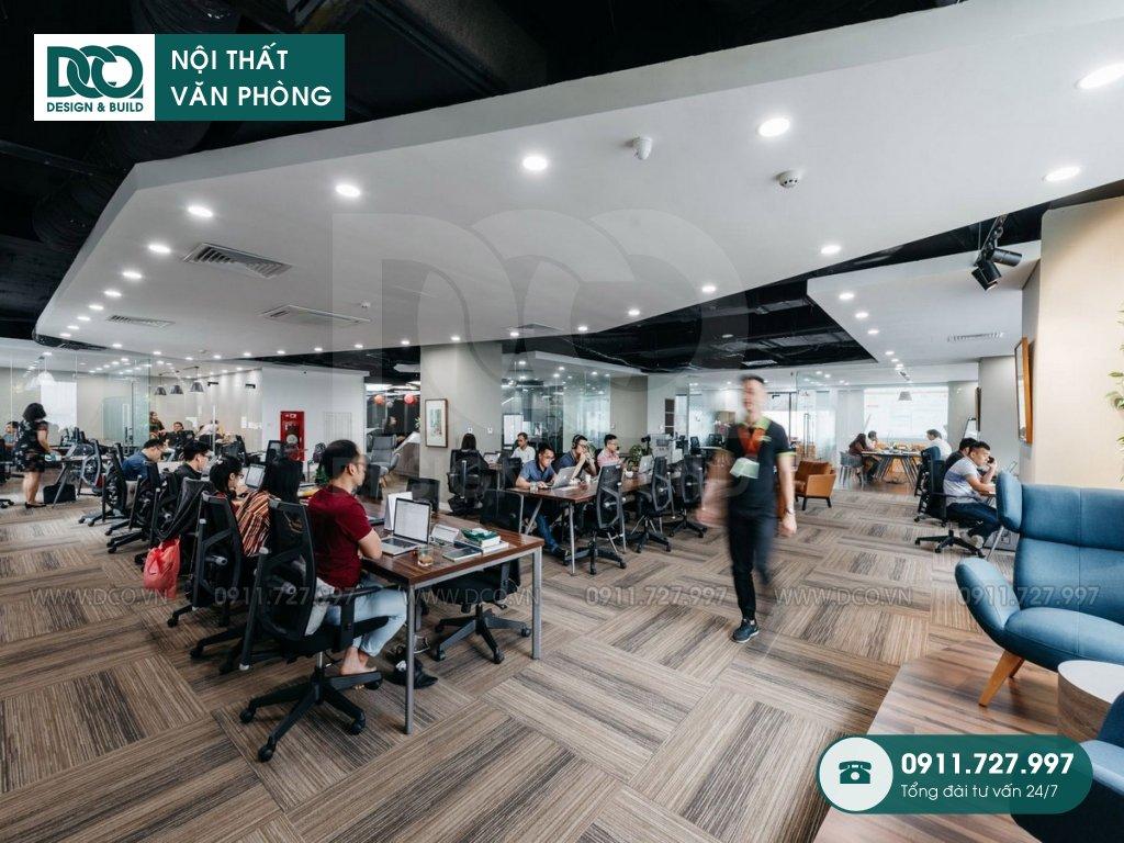 Hồ sơ bản vẽ mẫu nội thất văn phòng tòa nhà tại 519 Kim Mã