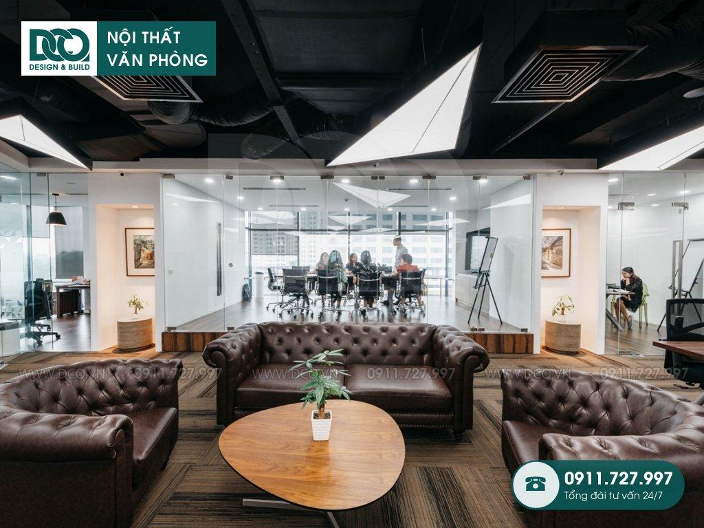 Bản vẽ mẫu nội thất văn phòng tòa nhà VIT Tower