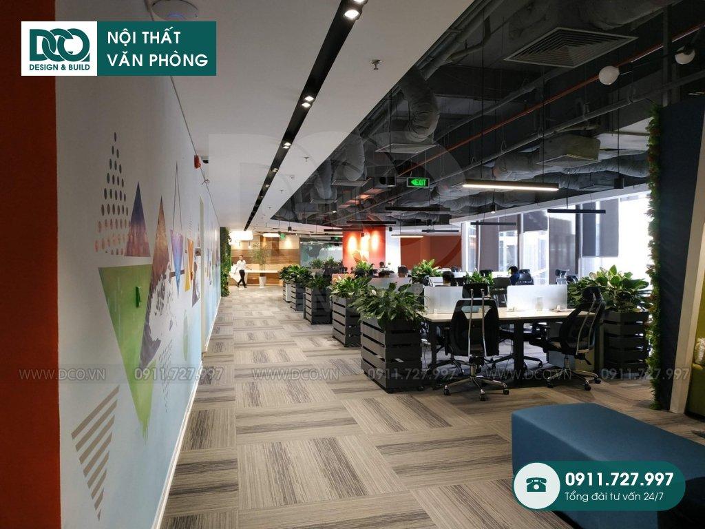 Dịch vụ thi công nội thất Coworking Space