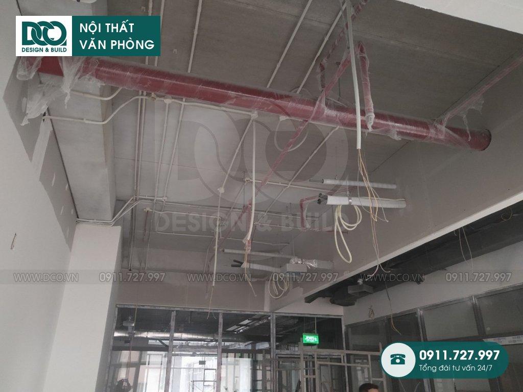 Thi công nội thất văn phòng tại Khương Trung