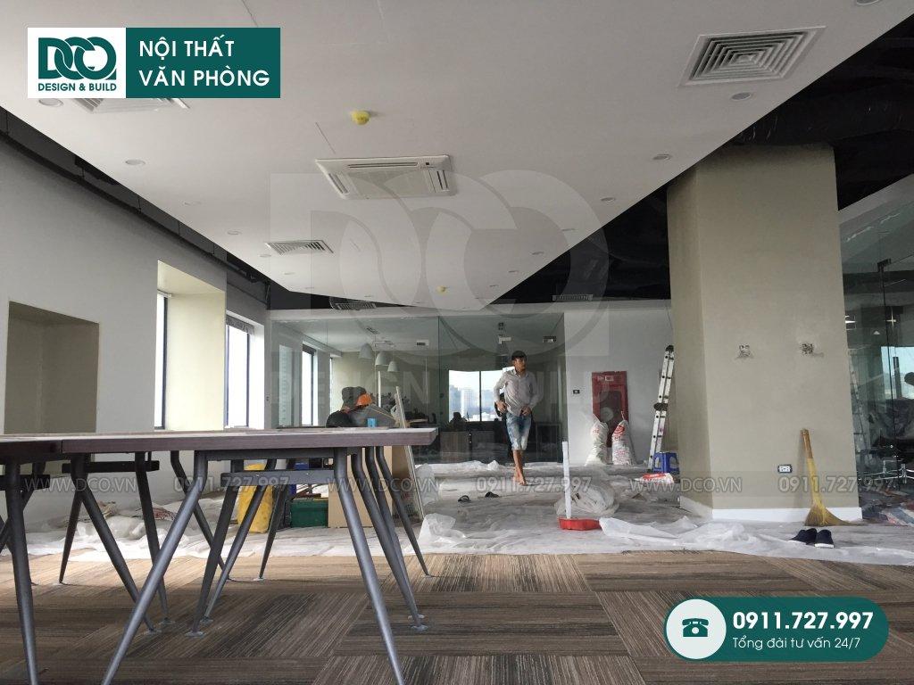 Dịch vụ thi công văn phòng tại Hòa Khánh Nam