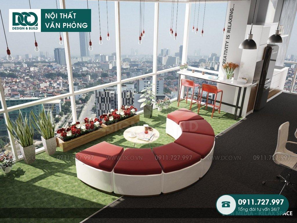Hồ sơ dự án thiết kế nội thất văn phòng tòa nhà 81A Trần Quốc Toản
