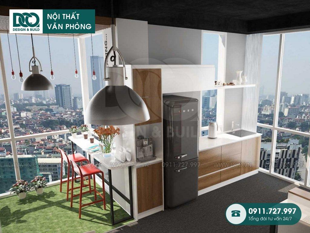 Hồ sơ dự án thiết kế nội thất văn phòng 140m2 81A Trần Quốc Toản