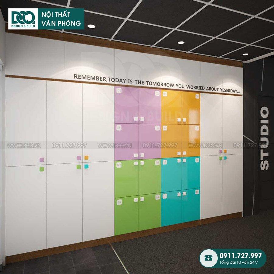 Hồ sơ bản vẽ mẫu nội thất văn phòng tòa nhà 81A Trần Quốc Toản