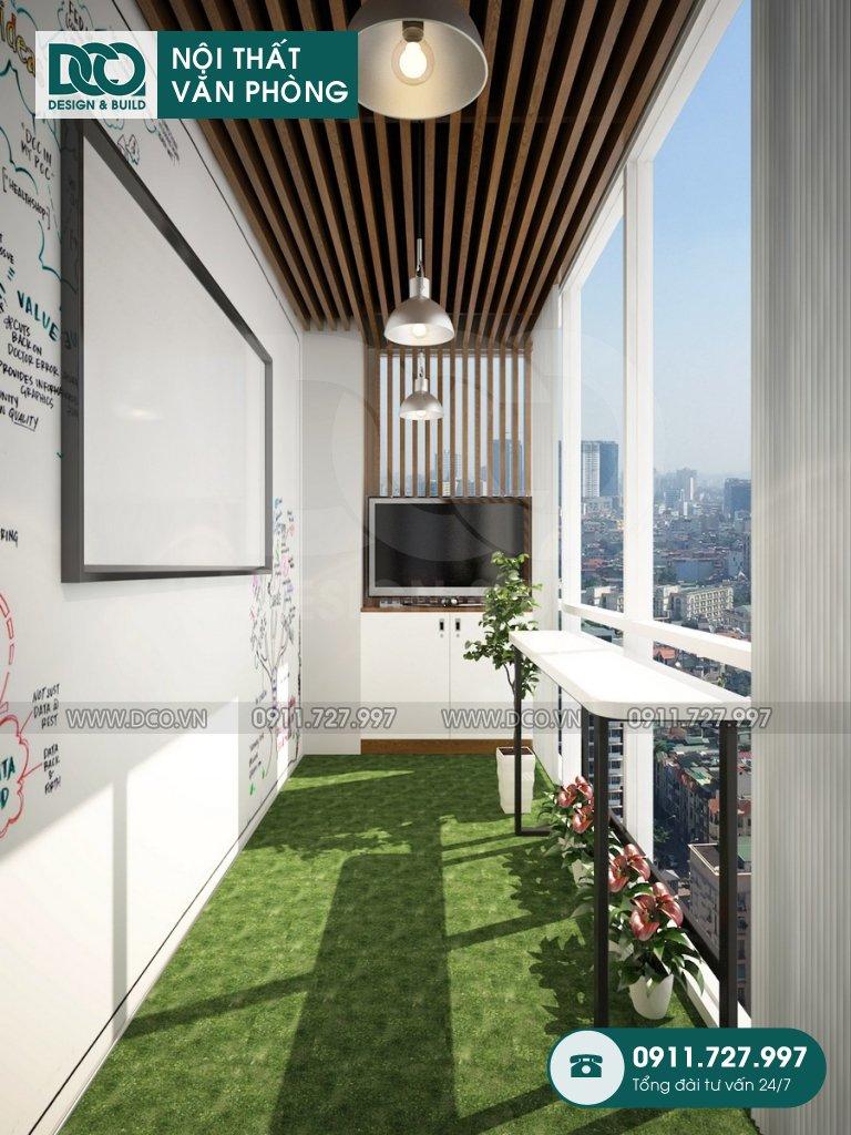 Mẫu nội thất văn phòng 140m2 81A Trần Quốc Toản