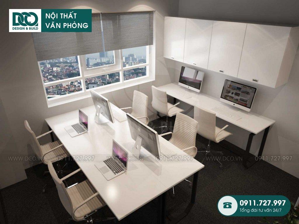 Hồ sơ dự án thiết kế nội thất văn phòng EGM Media 81A Trần Quốc Toản