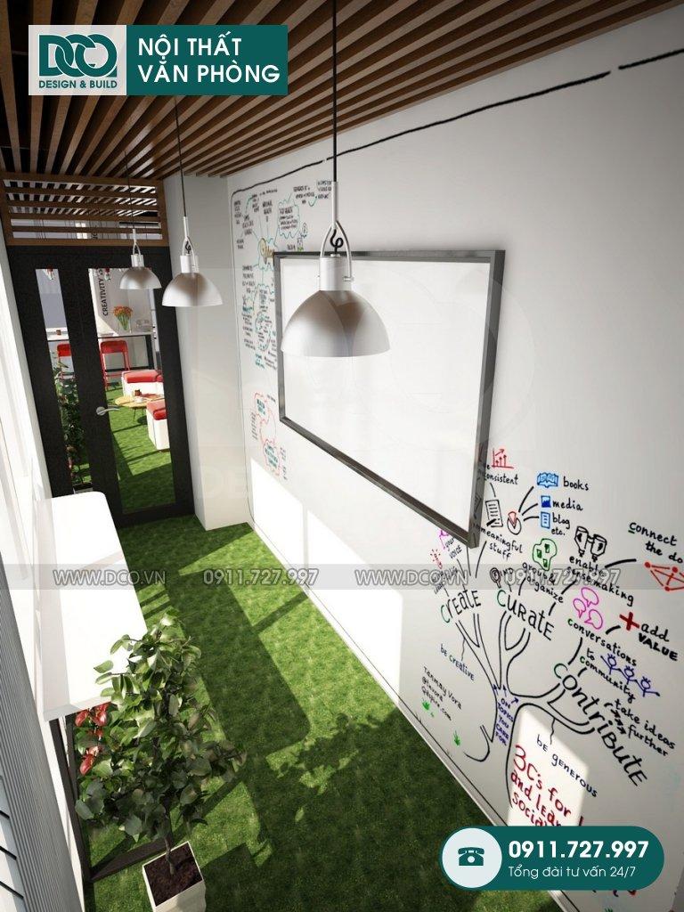 Bản vẽ mẫu nội thất văn phòng EGM Media 81A Trần Quốc Toản