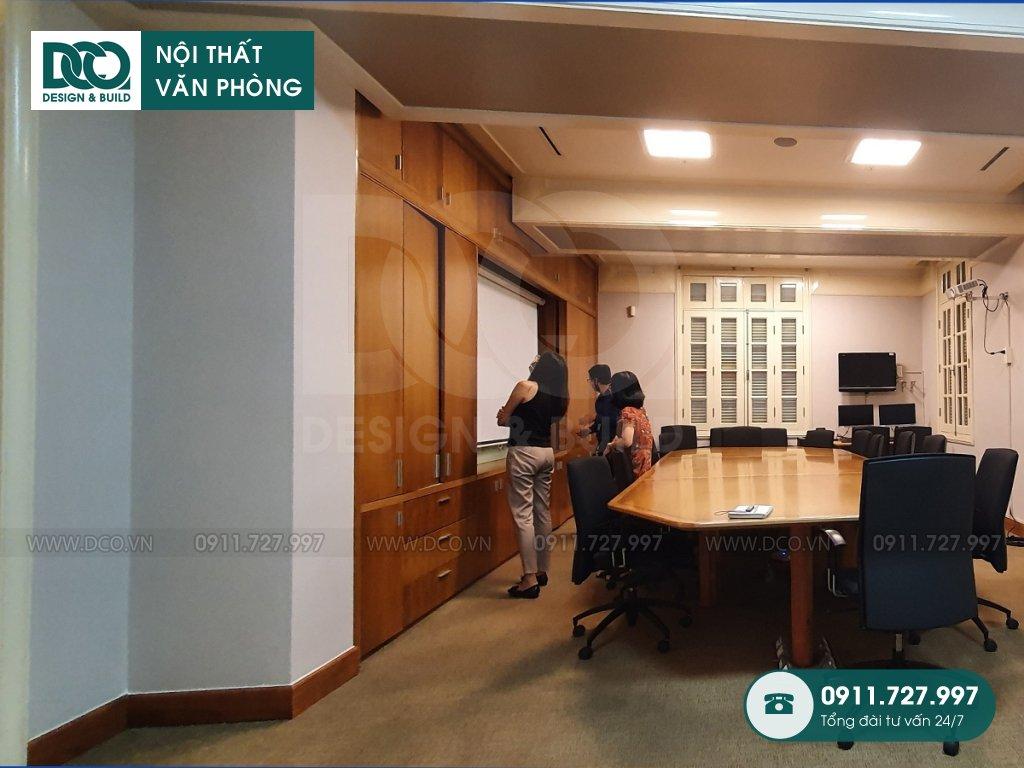 Hồ sơ dự án thiết kế nội thất văn phòng Đại sứ quán Singapore