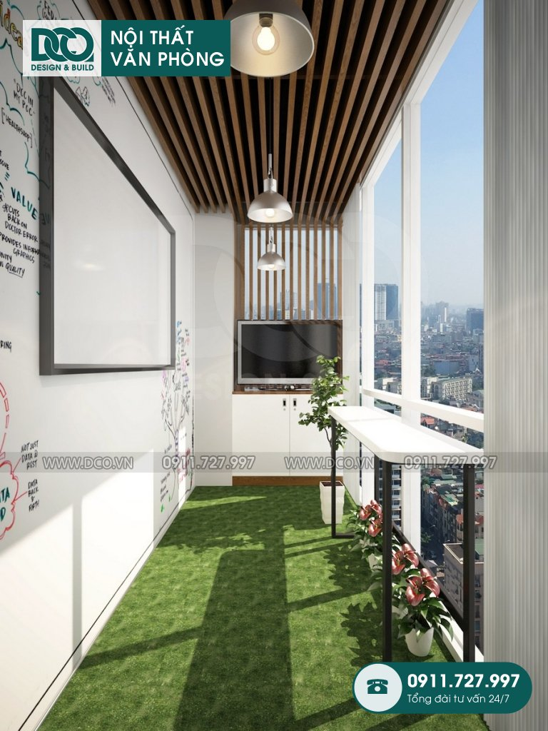 Dự án thiết kế văn phòng EGM Media