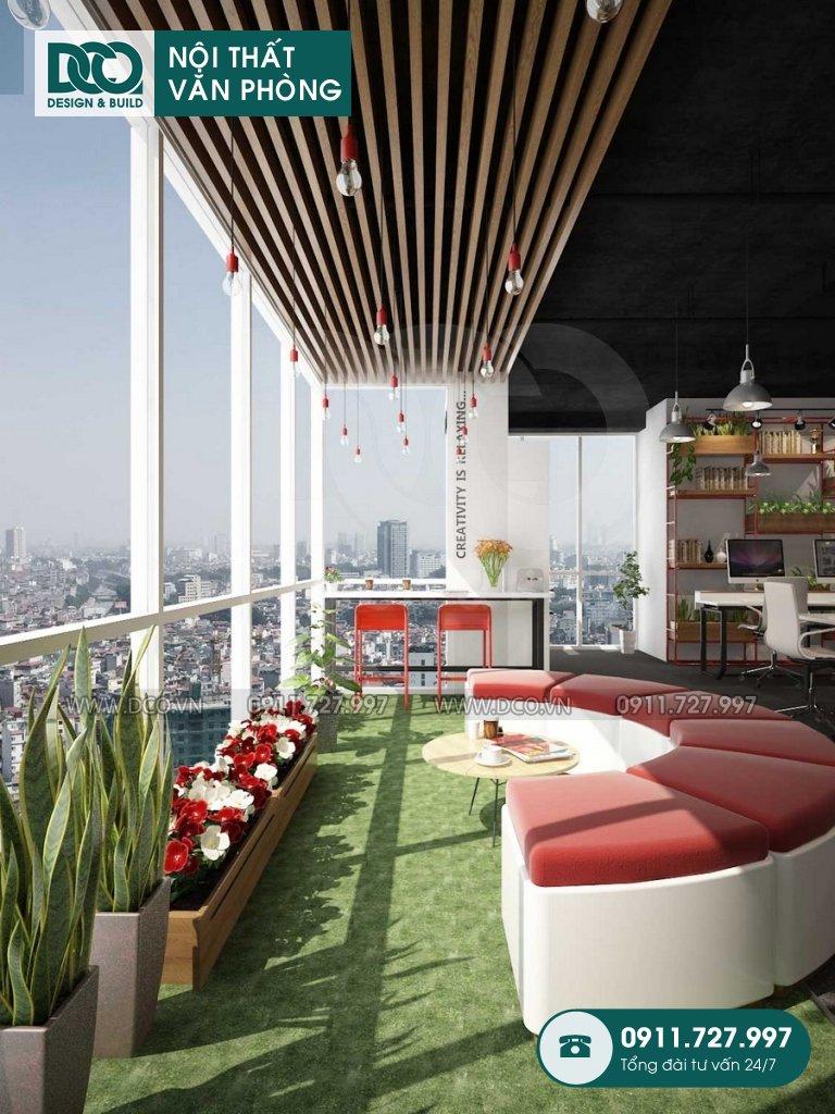 Hồ sơ dự án thiết kế nội thất văn phòng EGM Media