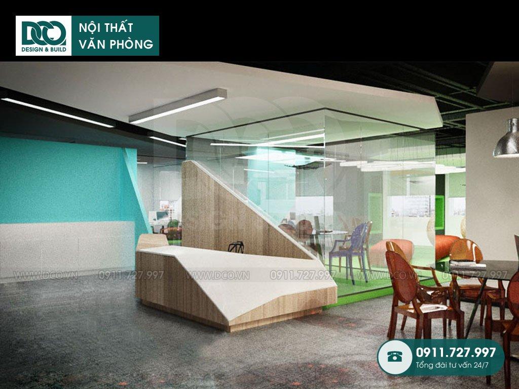 Hồ sơ dự án thiết kế nội thất văn phòng Coworking