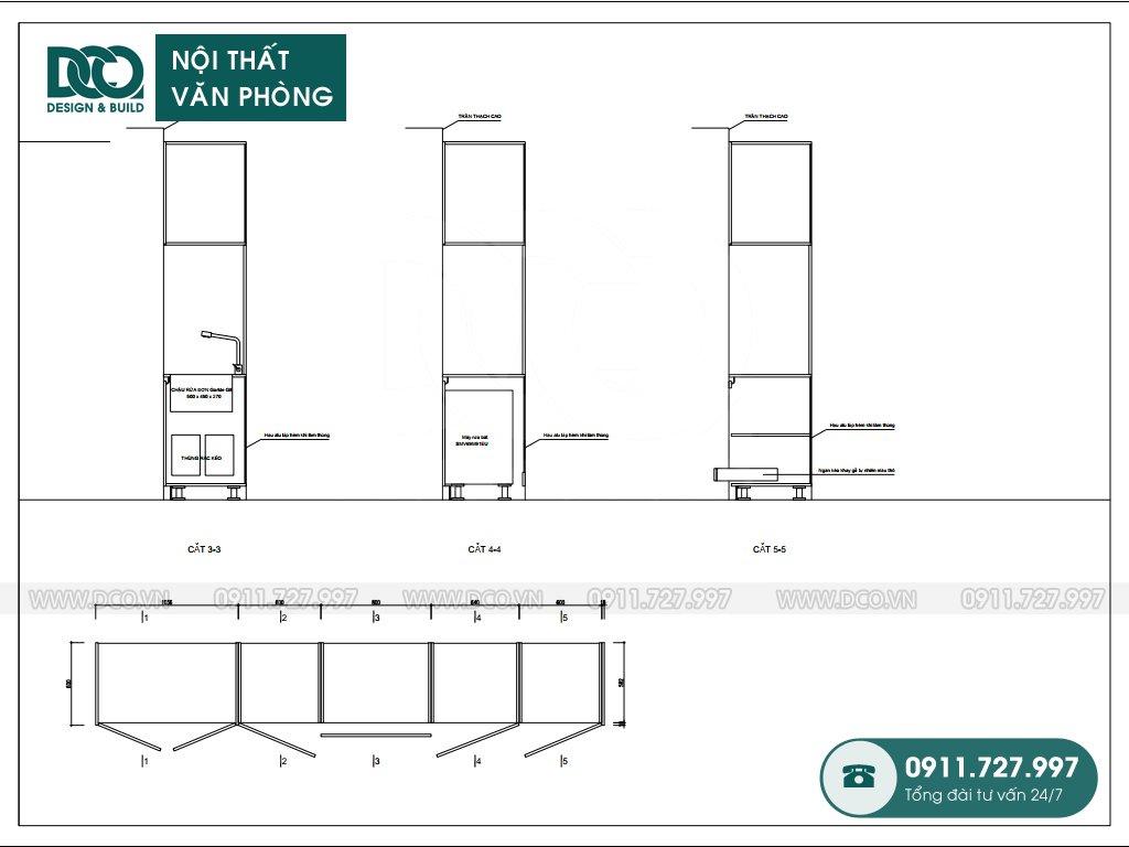 Hồ sơ dự án thiết kế nội thất văn phòng Kim Khí Thăng Long