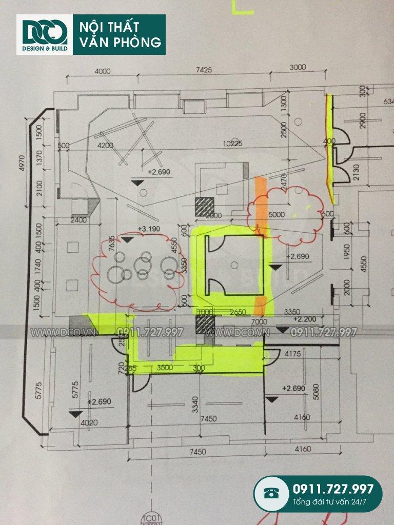 Dự án thiết kế nội thất văn phòng Coworking tại TP. HCM