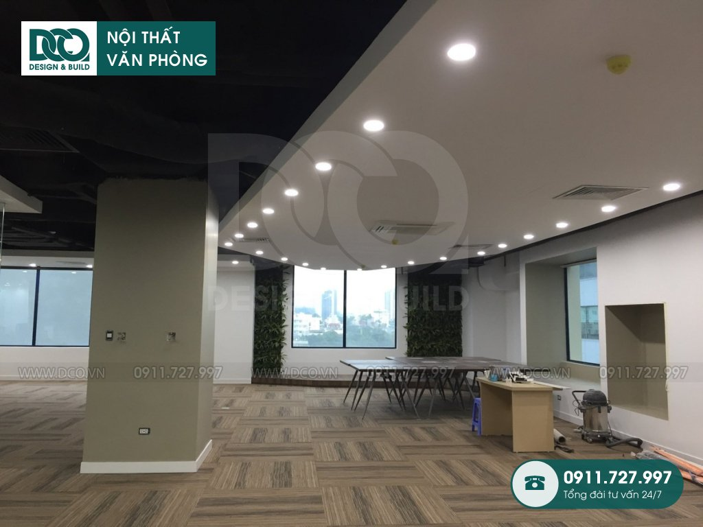 Dự án thiết kế văn phòng Kim Khí Thăng Long