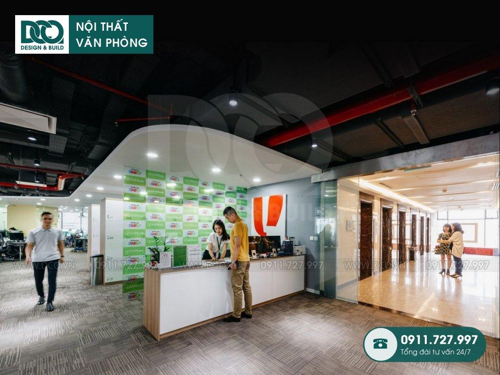 Dự án thiết kế nội thất văn phòng làm việc chung