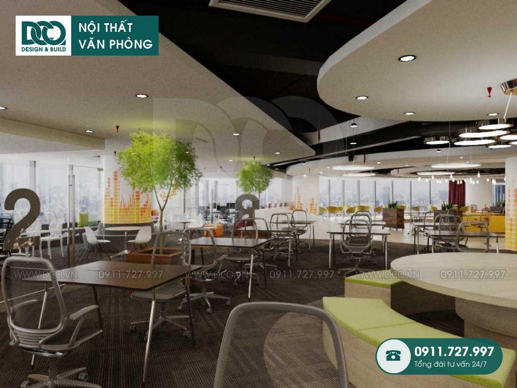 Dự án thiết kế văn phòng VP Bank tầng 21