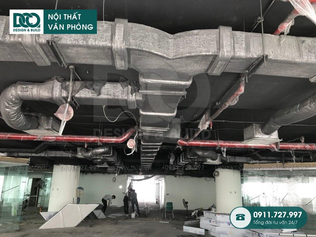 Hồ sơ dự án thiết kế nội thất văn phòng VP Bank tầng 22