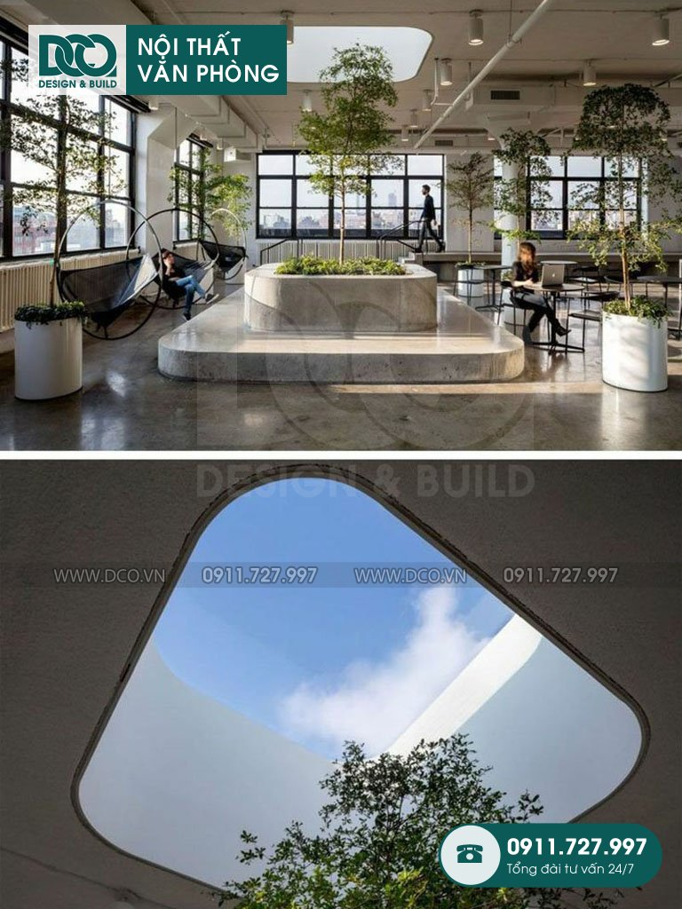 Dự án thiết kế văn phòng công ty Hoàn Mỹ