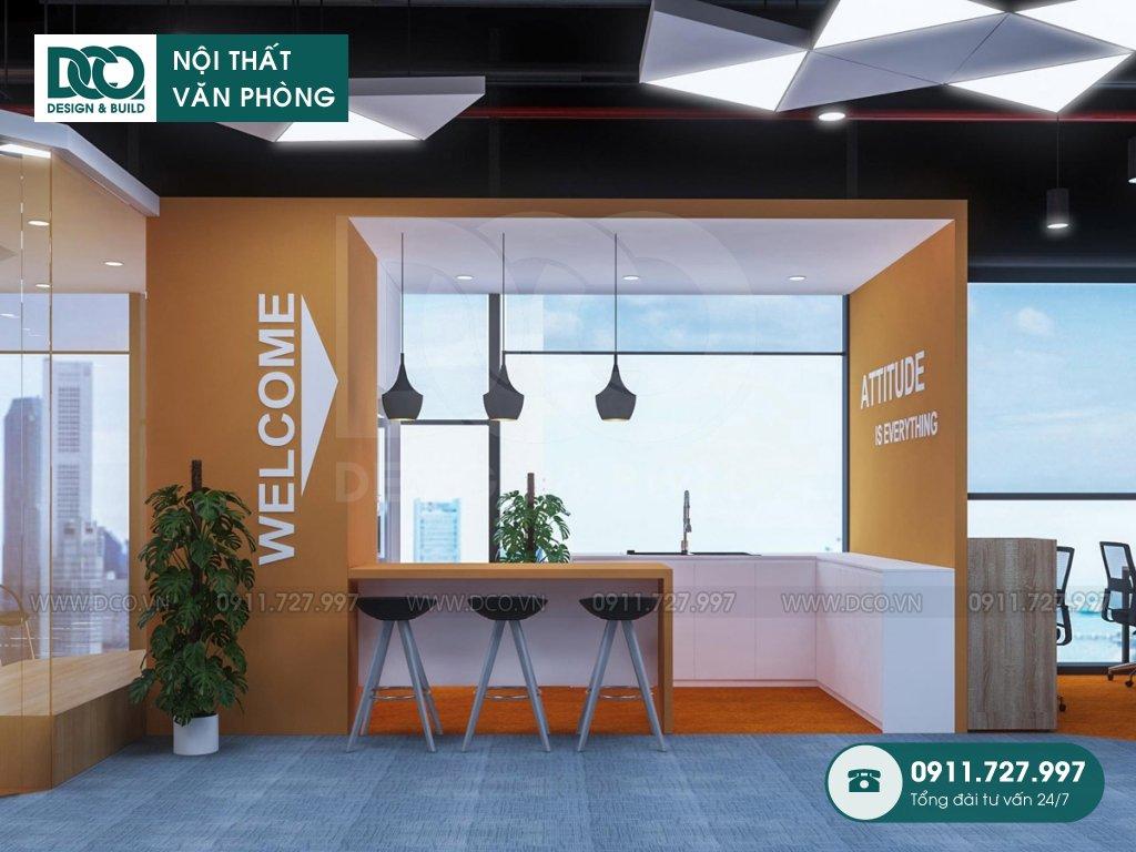 Thiết kế văn phòng khu 2 GNG Media
