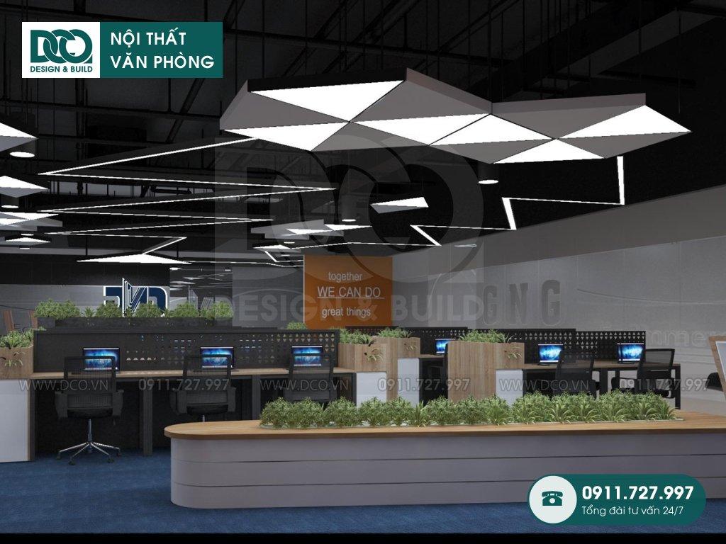 Hồ sơ mẫu nội thất văn phòng 250m2 khu 1 GNG Media