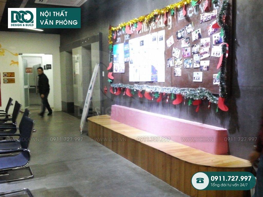 Bản vẽ mẫu nội thất văn phòng 400m2 Arena Multimedia