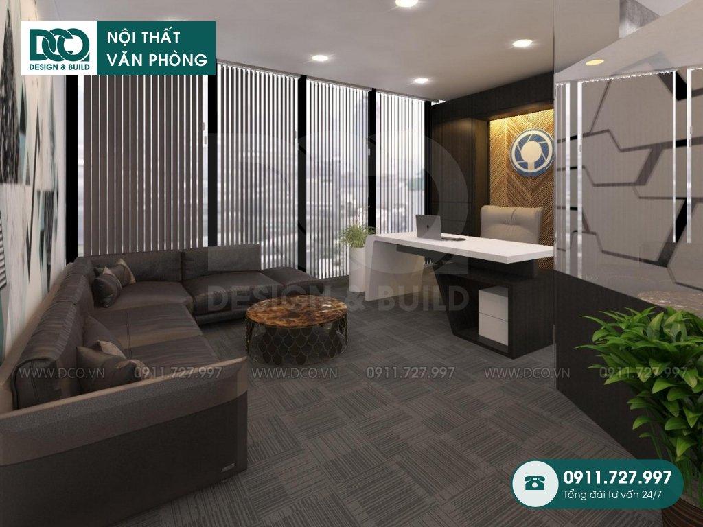 Bản vẽ mẫu nội thất văn phòng 48 chỗ GOLDEN NET dự án 2