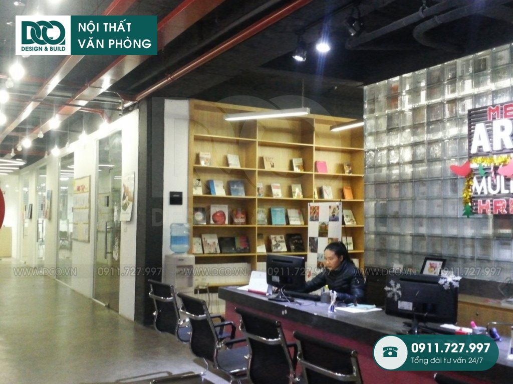 Mẫu nội thất văn phòng 68 Phạm Văn Bạch